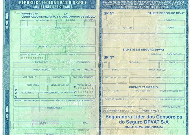 itens de documenta231227o carro e leil227o